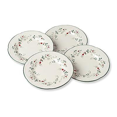 Pfaltzgraff Winterberry Salad Plates (8-Inch, Set Of 4)