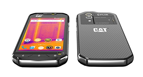 Caterpillar CAT S60 32GB Factory Unlocked Thermal Imaging Rugged Smartphone (Black) - UK/EU Version
