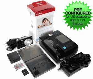 Passport Photo Printer System - Preconfigured for US Passports by CFS Products