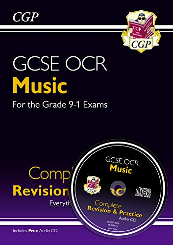 New GCSE Music OCR Complete Revision & Practice (with Audio CD) - For the Grade 9-1 Course (Cgp Gcse Music Complete Revision And Practice)