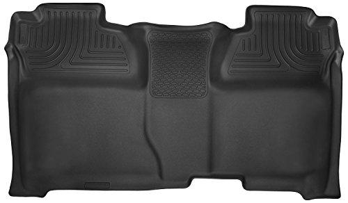Husky Liners 2nd Seat Floor Liner Fits 14-18 1500, 15-19 2500/3500HD Silverado/Sierra - Seats Inc Contour