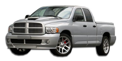 Duraflex ED-UEY-169 SRT Look Front Bumper Cover - 1 Piece Body Kit - Fits Dodge Ram 2002-2005