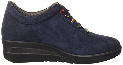 Sneaker a Notte Basso Donna MELLUSO Blu Collo R25802 ZEq5EI0w