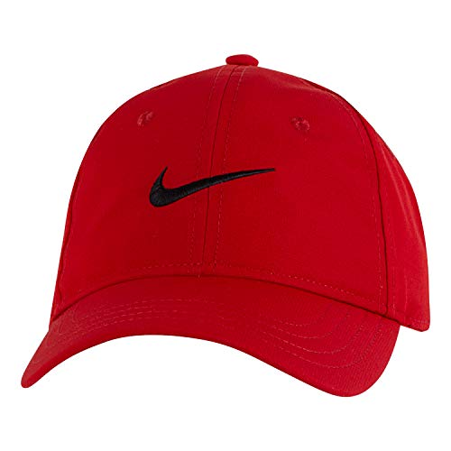 NIKE Children's Apparel Kids' Little Classic Ripstop Basball Hat, University Red, O/S (Red Hat For Boys)