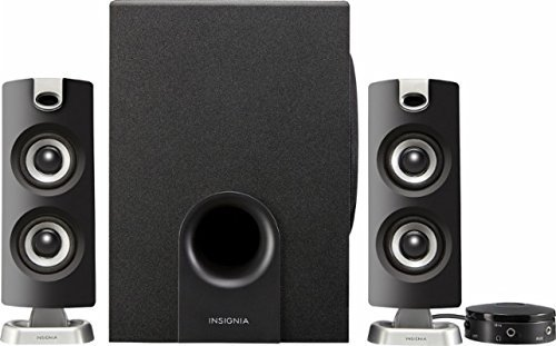 Insignia NS-PSB4721 - 2.1 Bluetooth Speaker System (3-Piece) - (Music System 3 Piece)