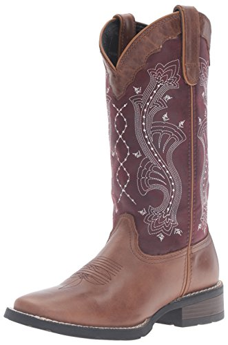Durango Donna Drd0133 Western Boot Brown / Prugna