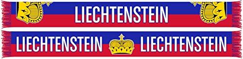 World Cup Soccer Liechtenstein International Soccer Team Scarves, One Size, Red (Football Team Scarf)
