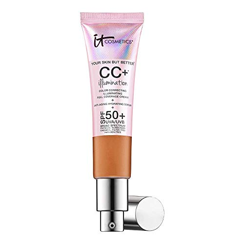 IT Cosmetics Your Skin But Better CC+ Illumination SPF 50+ 1.08oz, Rich
