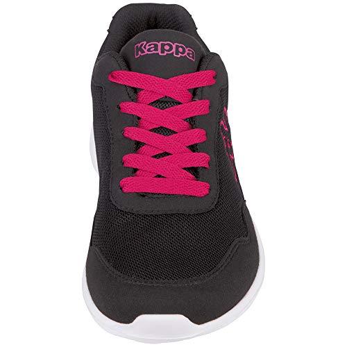 Sneaker Follow Kappa – Unisex pink black Nero Adulto v7wwaqx