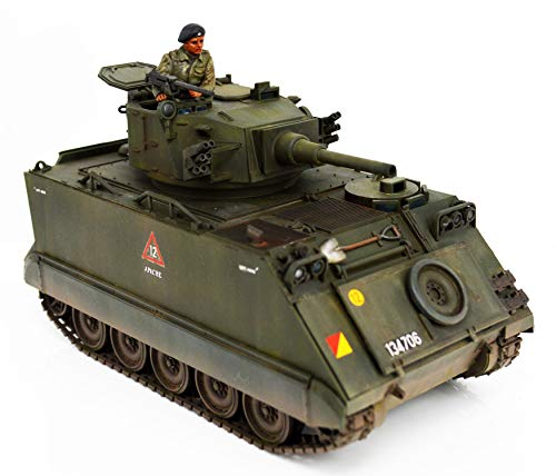 FloZ Australian M113A1 Fire Support Vehicle 1/35 Finished Tank Model with Crew