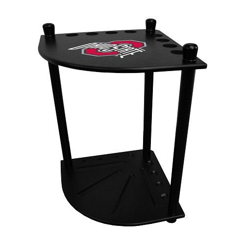 Imperial Ohio State University Corner Cue Rack w/Officially Licensed Logo