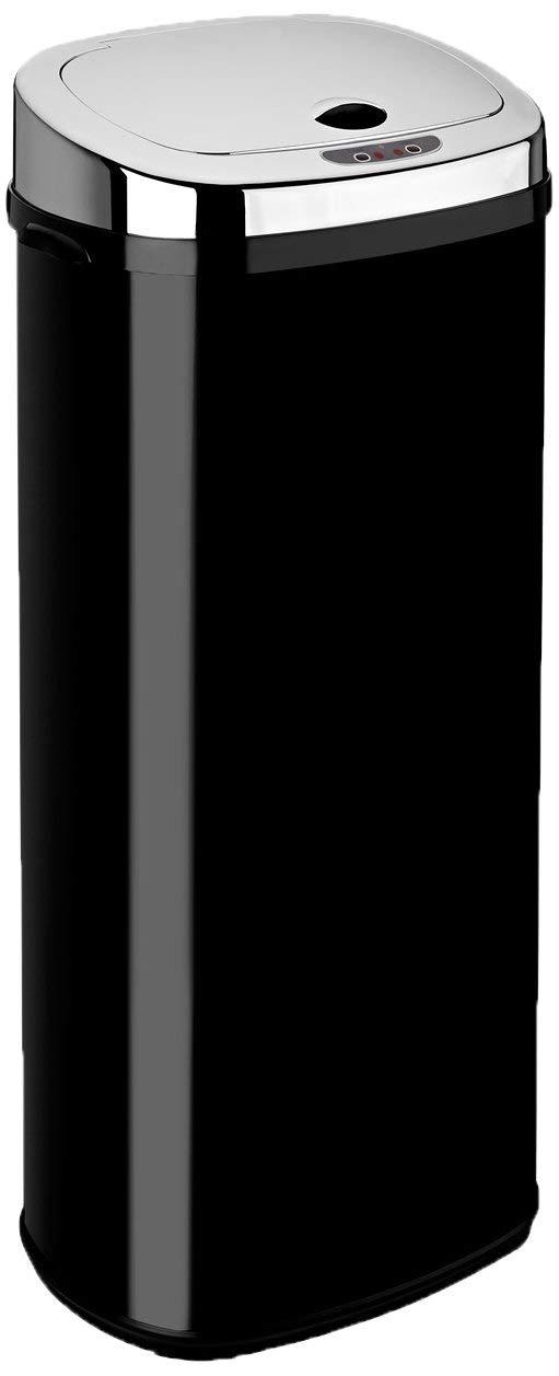 50 L, rectangular Papelera con sensor color negro Dihl
