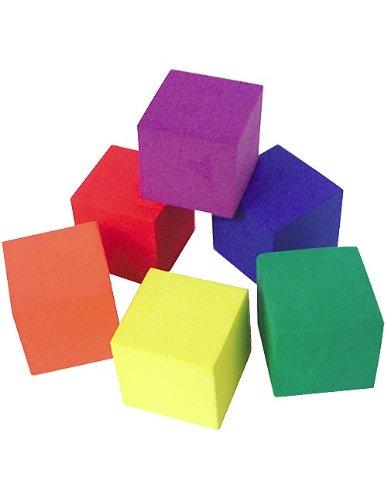 Teacher Created Resources Foam Color Cubes (20615) ()