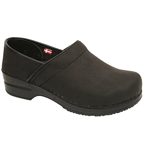 Smart Step By Sanita Women's Albertine Clog Black by Sanita