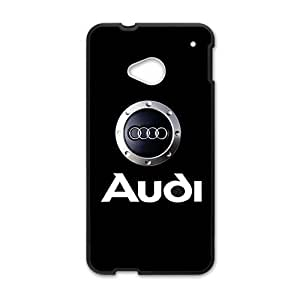 SANLSI Audi sign fashion cell phone case for HTC One M7