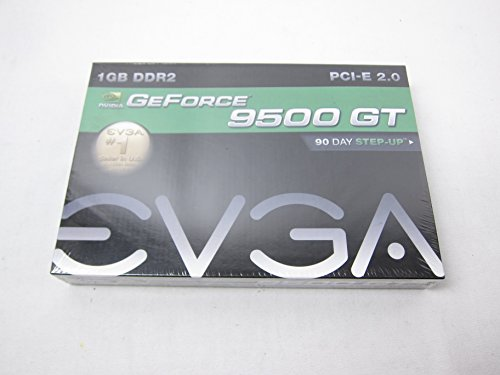9500gt 1 Gb Video - EVGA GeForce 9500GT 1GB DDR2 PCIe Graphics Card 01G-P3-N958-LR