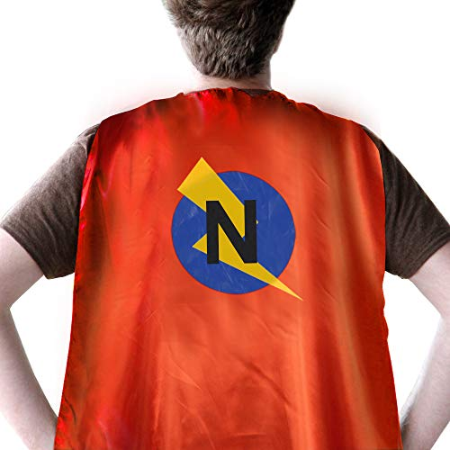 Super Hero Capes for Adults, Adult Superheroe Cape, Superhero Capes Women, Custom Name Cape with Letter - Flash Cape -