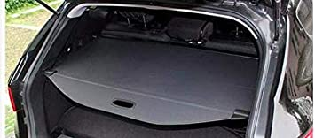 Aluminum Alloy Rear Trunk Tonneau Cargo Cover For 2016 2017 2018 Hyundai Tucson
