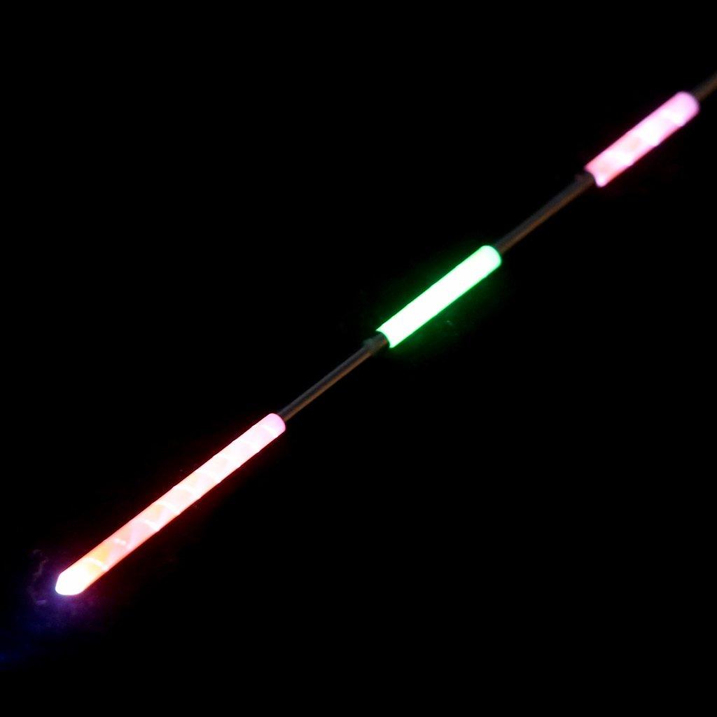elektronisch Standard-Schwimmer elektronisch LED-Leuchtstab f/ür Nachtlicht beleuchtet batteriebetrieben Longsw Angelschwimmer