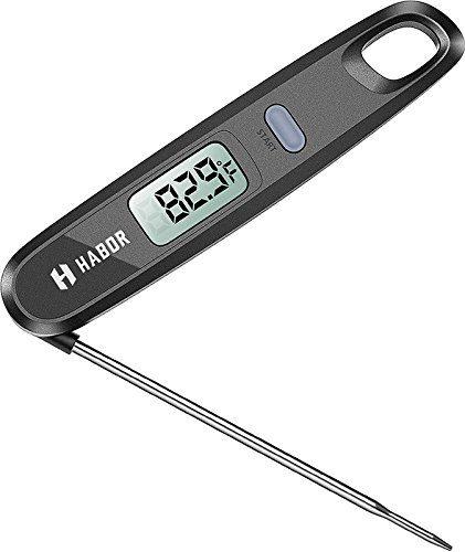 Sale!! Super Fast Meat Thermometers, Habor Instant Read Thermometers Digital Electronic Food Thermom...