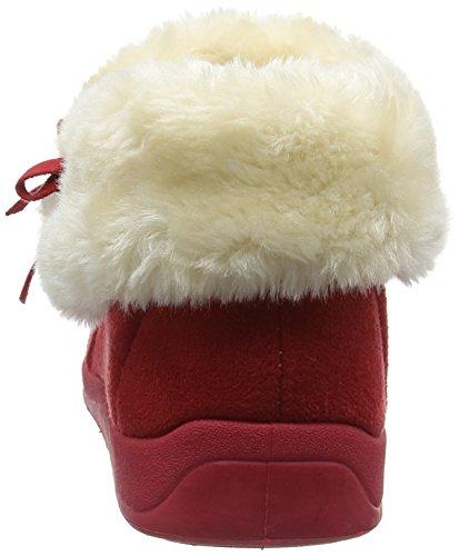 Dunlop Bessie - Zapatillas bajas Mujer Rojo (Red/Winter Red)