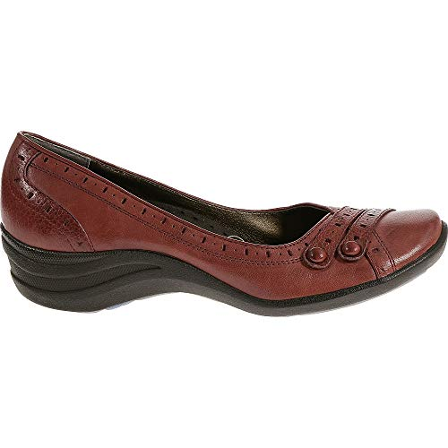 Hush Puppies Burlesque Women's Dress Shoes (8.5 M in Dark Red Leather)