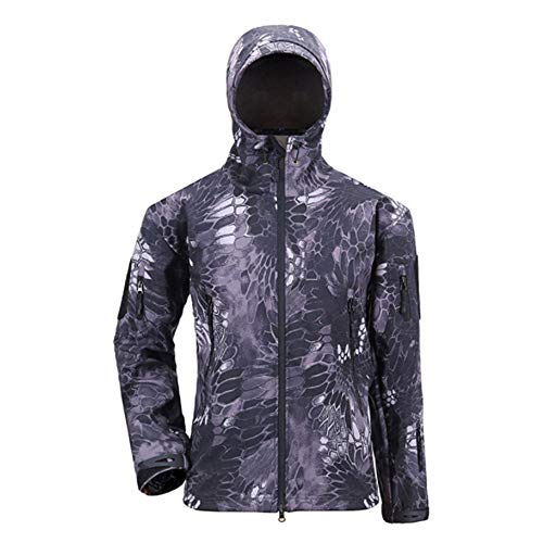 - WUAI Clearance Men's Autumn Winter Warm Hooded Jackets Outdoors Sports Full-Zip Athletic Outwear(Purple,US Size S = Tag M)