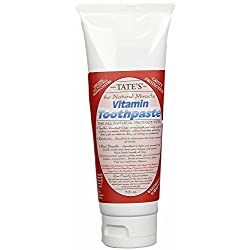 Tate's The Natural Miracle - Vitamin Toothpaste - 5 floz
