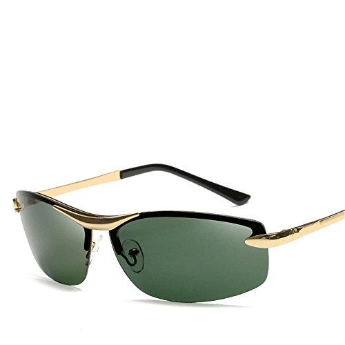 Chahua Mens sunglasses retro high gloss lunettes fashion homme roulant miroirs dans le lunettes optiques