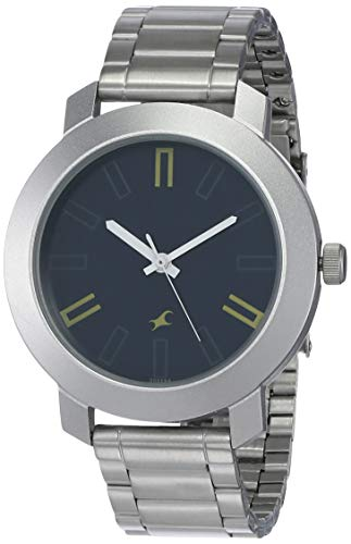 Fastrack Casual Analog Navy Blue Dial Men's Watch NM3120SM02/NN3120SM02