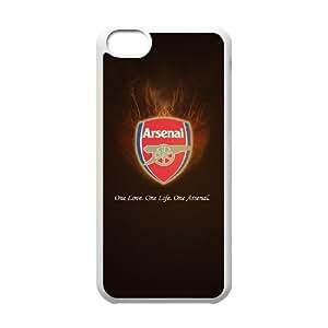Arsenal X9W20Y2IN funda iPod Touch 6 caso funda 4IE7GM blanco
