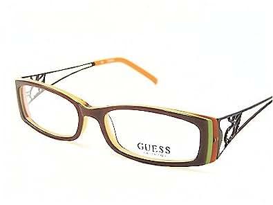 GUESS GU-1435 GU1435 Brown Optical Eyeglasses Frame