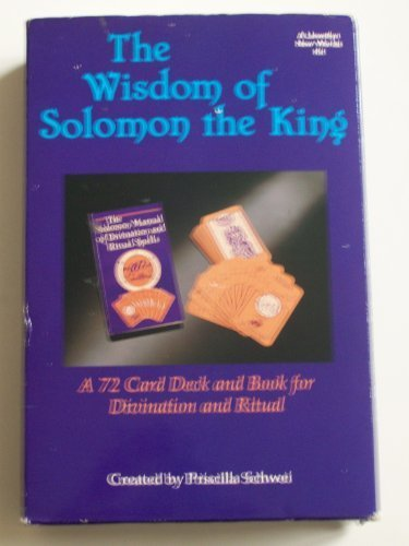 (The Wisdom of Solomon the King: A 72 Card Deck and Book for Divination and Ritual (A Llewellyn New Worlds Kit) )