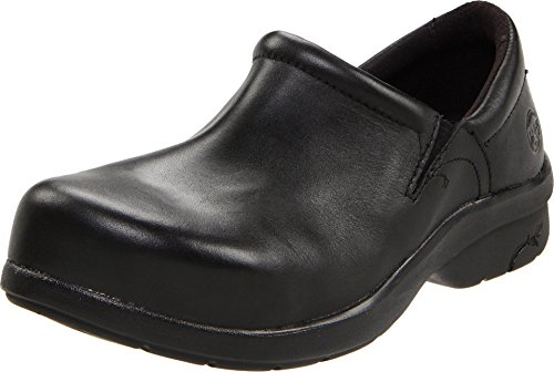 087528001 Timberland PRO Women's Newbury Work Shoes - Black - 9.5 - W by Timberland PRO