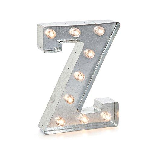 - Darice 9.875 METL Marquee Silver Z