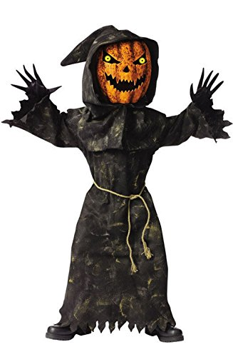 [Mememall Fashion Bobble Head Pumpkin Child Halloween Costume] (Bobble Head Halloween Costume)