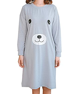 LLP Lovely Panda Big Girls Teenage Sleepwear Dress(8y-16y)