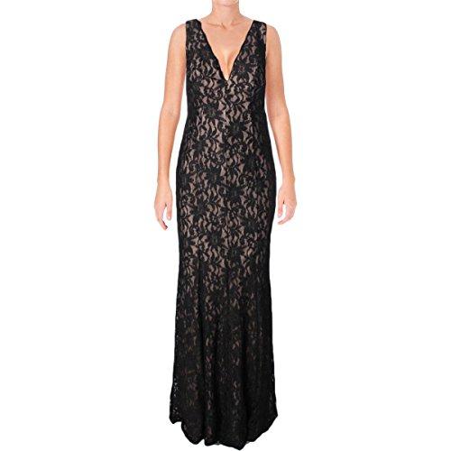 Lace Black Womens Nude 8 Glitter 1 Evening Decode Dress q4z0xtn
