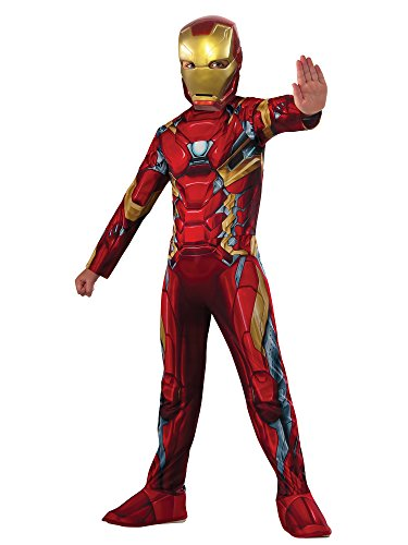 Rubie's Costume Captain America: Civil War Value Iron Man Costume, Large]()
