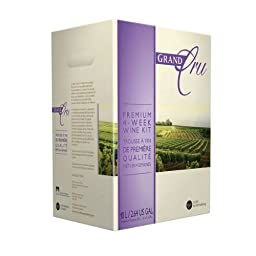 Grand Cru Cabernet Sauvignon Red Wine Recipe Kit