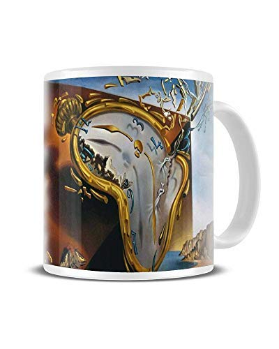 - The Persistence of Memory (Melting Clock Only) - Famous Artists - Classic Artwork - Salvador Dalí - Mug - Ceramic - Coffee - Tea - Great Gift Idea Funky NE Ltd