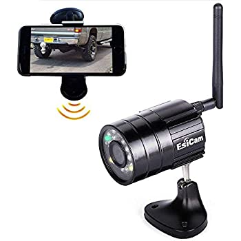 Amazon.com: EsiCam Battery Backup Camera Wireless for