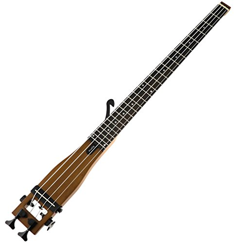 Anygig Bass String Backpacker Portable Traveler 4 Strings Travel Practics Guitar (Traveler Bass)