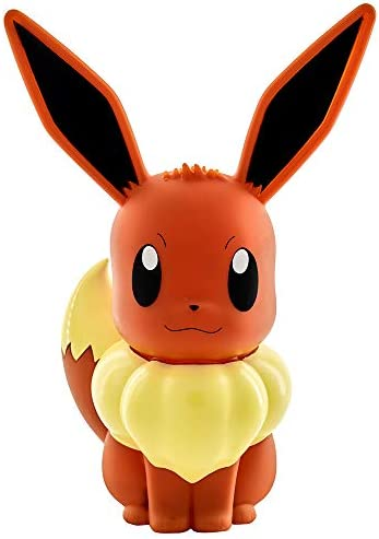 Teknofun 811371 Pokemon Eevee LED Lamp 30CM, Brown