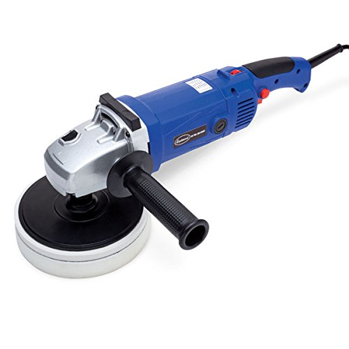 Eastwood Buffer Polisher 120V Powerful And Drable Compact Waxing Sander Machine With Side Handle 600-3000 RPM