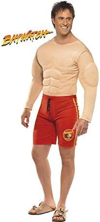 Los Vigilantes de la Playa Disfraz musculoso de Hombre: Amazon.es ...