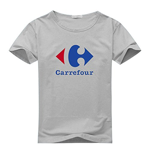 carrefour-logo-for-2016-mens-printed-short-sleeve-tops-t-shirts