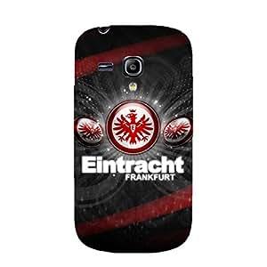 3D Hard Plastic Frankfurt logo Phone Case for Samsung Galaxy S3 Mini FC Team Logo Vintage Style Eintracht Frankfurt Phone Case