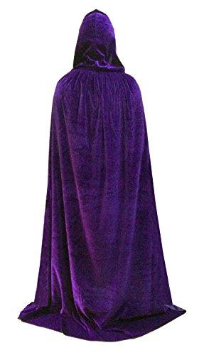 Women (Purple Hooded Cape)
