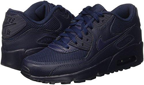 Nike Air Max 90 Mesh (gs) Collezione Attuale Sneaker 2016 Diversi Colori Ossidiana 401